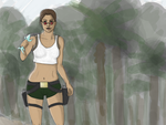 Lara Croft, Tomb Raider 3: South Pacific (WIP) by mandusmachine
