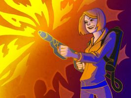 Flamethrower by Alice-chan