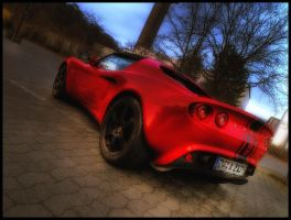 Lotus Elise HDR by Riot23