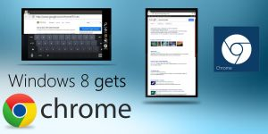 Windows 8 gets Chrome by MetroUI