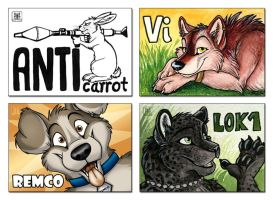 EF16 badges - part 3 by TaniDaReal