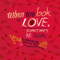 When We Look For Love by callupish