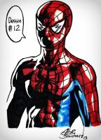 12. A super hero by Tyliss
