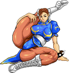 Chun li pin up pixel by Providenceangle