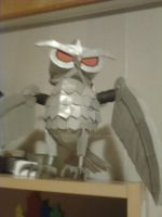 Sly 4: Clockwerk cardboard model by Noxonius