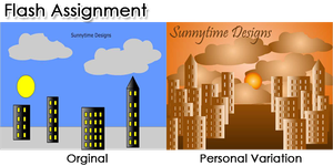 Flash: Sunnytime Designs by jacquelynvansant