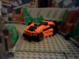 Ridge Racer 3D in Lego by ToaTom