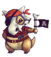 Cubone / charity collab by katagro