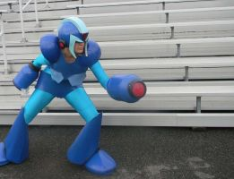 DASH-Megaman X Cosplay by TheNin10dork