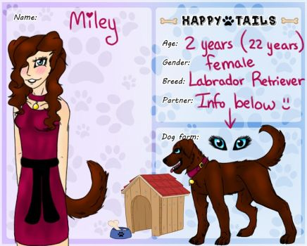 Miley - Happy Tails application by NatalieGrayson