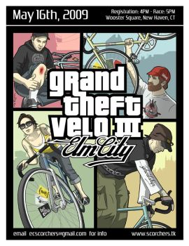 Grand Theft Velo III by Teaessare