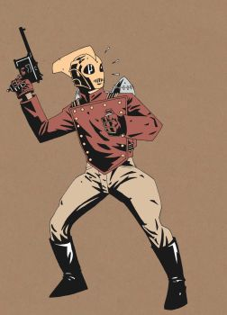 ROCKETEER CARD by future-parker