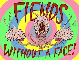 Fiends Without a FACE by LooneyLion
