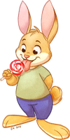 Lollipop Bunny Returns! by autogatos