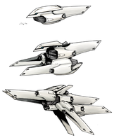 Deus Satellite Cannons by GleamingScythe