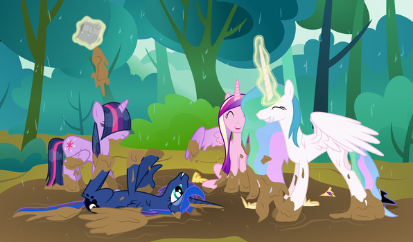 Royal Mudbath by liamwhite1