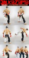 Tekken Custom Jin Kazama by KyleRobinsonCustoms