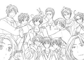 Group photo_unfinished by ERwAyJi