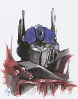 TS Optimus Prime by Deceptigirl