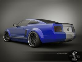 gt 500 blue update by 3dmanipulasi