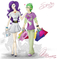 Shopping day! by Rinikka