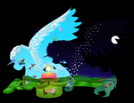 Kites and Lanterns - PI's 12th Birthday! by PearTizer