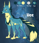 Adoptable: 'Vee' :CLOSED: by The-Nutkase