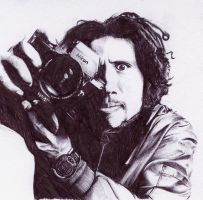 Zack De La Rocha sketch by childproof