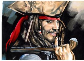 Jack Sparrow by diegozgzdna