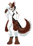 .:Storm Husky:. by Squidacious