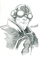 Lobster Johnson by Forty-Nine