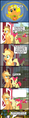 Applejack's Element of Honesty Adventures 2 by bronybyexception
