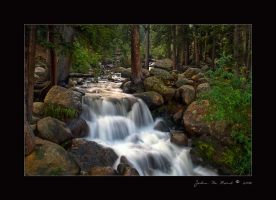 Mt Evans Waterfalls by kkart