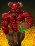 Baron of Hell colored by Kracov