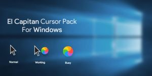 Mac Os El Capitan Cursor Pack for Windows by arnoldantonio