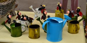 Bug Watering Cans ... with a little more by re--creation