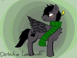 Detective lone wolf request!! (Finally) by WHATWhyomg