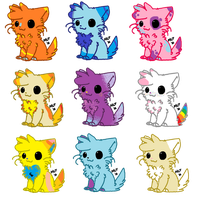 ..::Cat Adoptables 5 points/free for Elsa::.. by Bugsy-Alice-Adopts