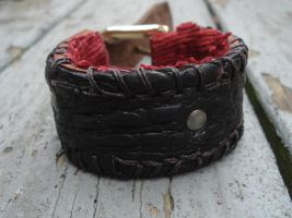 Leather cuff 2 by missmonster