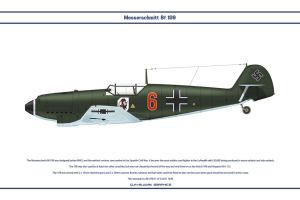 Bf 109 D-1 JG51 1 by WS-Clave