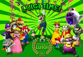 Luigi Time by Fawfulthegreat64