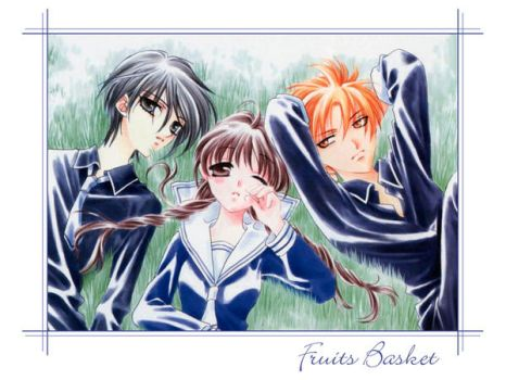 Fruits Basket Love Triangle by Anime-Love-Triangles