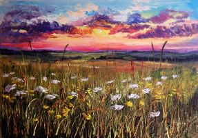 Energetic Sunset by Kasia1989