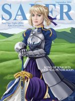 Saber Cover (Artist Edition) by siberzer0
