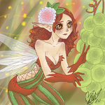 Autumn Fairy by AnniaNyah