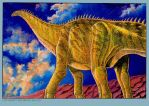 Brontosaurus by BryanBaugh