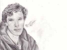 Benedict Cumberbatch by Ljoni