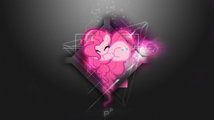 [Space Heart Series] - Pinkie Pie 1920x1080 by forgotten5p1rit