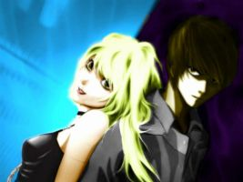 Light x Misa by Kathy-Chan007