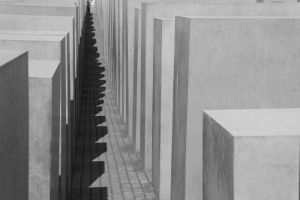 The Holocaust  Memorial in Berlin by utico